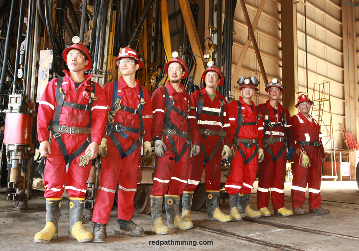 Asia | Redpath Mining Contractors and Engineers